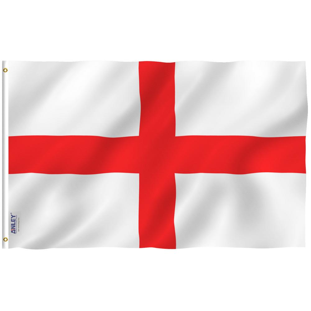 ANLEY Fly Breeze 3 ft. x 5 ft. Polyester England Flag 2 ...