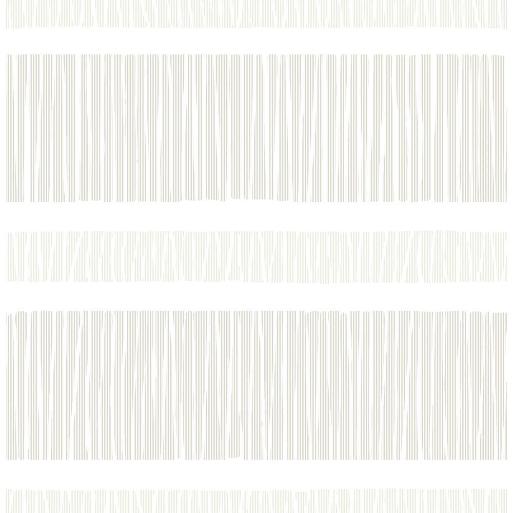 A-Street Gravity Neutral Stripe Wallpaper Sample 2716-23834SAM