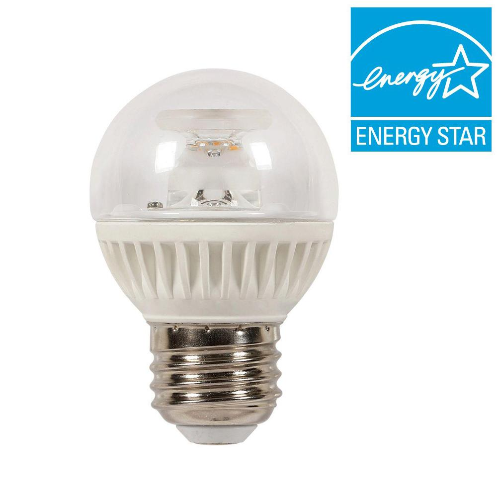 Westinghouse 60w Equivalent Soft White Globe G16 5 Dimmable Led Light Bulb 0312900 The Home Depot
