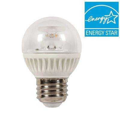 60W Equivalent Soft White Globe G16.5 Dimmable LED Light Bulb