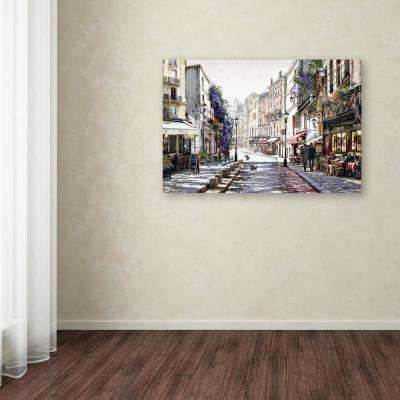 "30 in. x 47 in. ""Dappled Sunlight"" by The Macneil Studio Printed Canvas Wall Art"