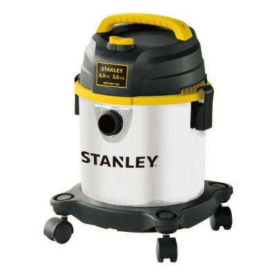 3 Gal. 4.0 HP Stainless Stell Wet/Dry Vacuum
