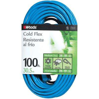 100 ft. 16/3 SJTW Outdoor Light-Duty Extension Cord