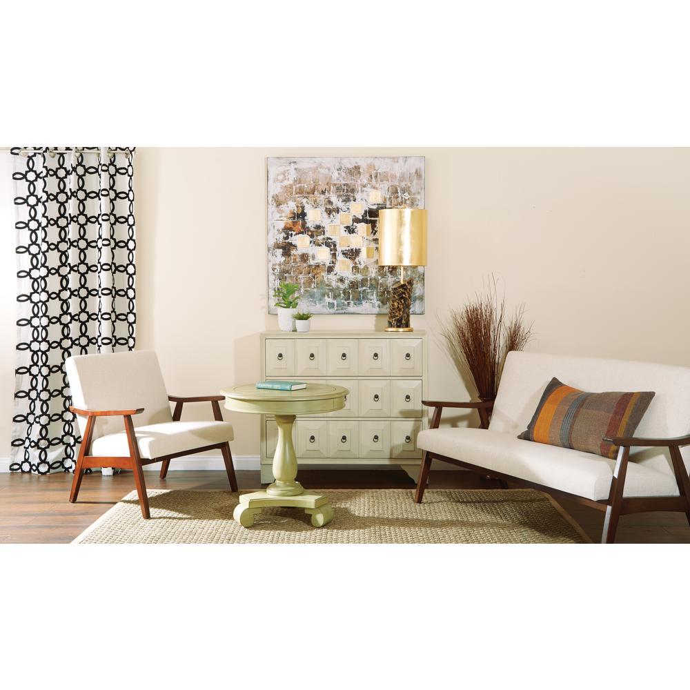 Pleasant Avalon Round Accent Table Machost Co Dining Chair Design Ideas Machostcouk