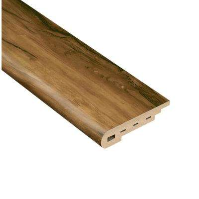 Woodland 1/2 in. Thick x 2 in. Wide x 94 in. Length Vinyl Stair Nose Molding