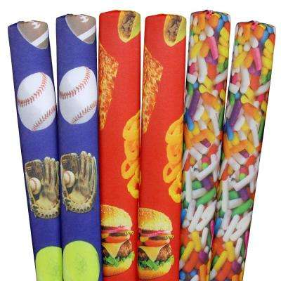 Sprinkles, Sports, Foods Pool Noodles (6-Pack)
