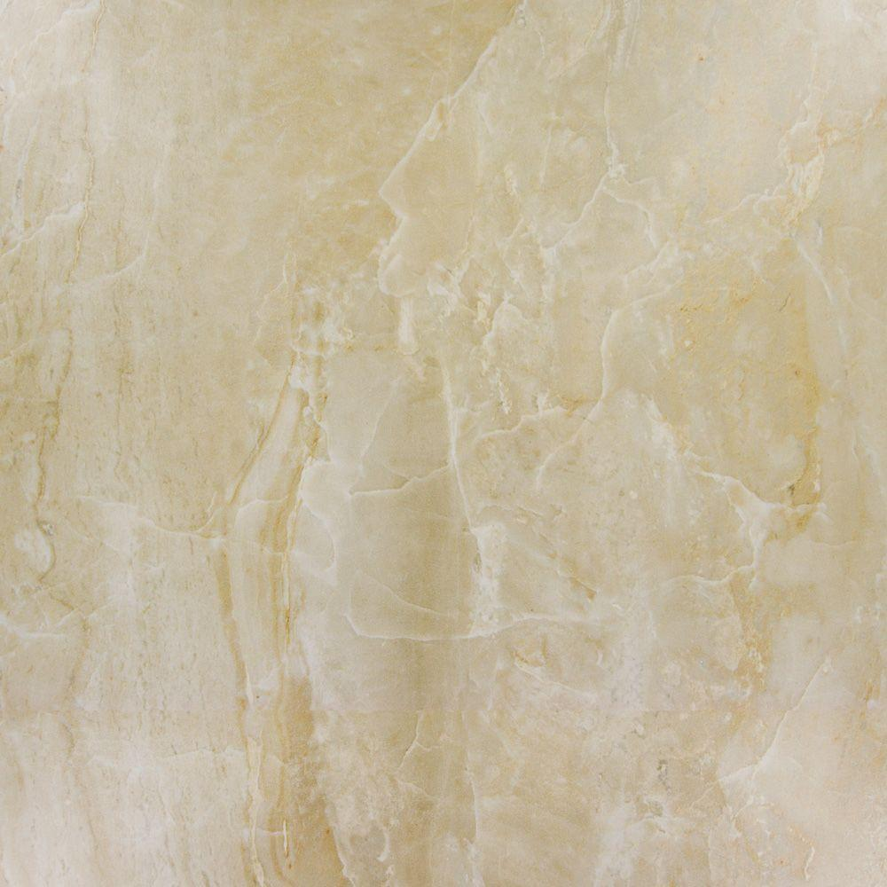 MS International Onyx Sand 18 in. x 18 in. Glazed Porcelain Floor and Wall Tile (15.75 sq. ft. / case)