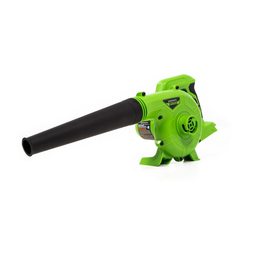 90 MPH 180 CFM 24-Volt Battery Cordless Shop Blower, Battery Not Included SBL24B00