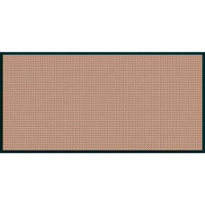 WaterGuard Medium Brown Motorcycle 35.25 in. x 97 in. Landing Pad