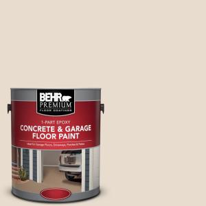 Behr Premium 1 Gal Or W11 White Mocha 1 Part Epoxy