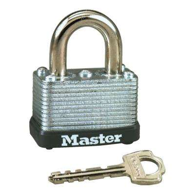 1-1/2 in. Laminated Steel Warded Padlock