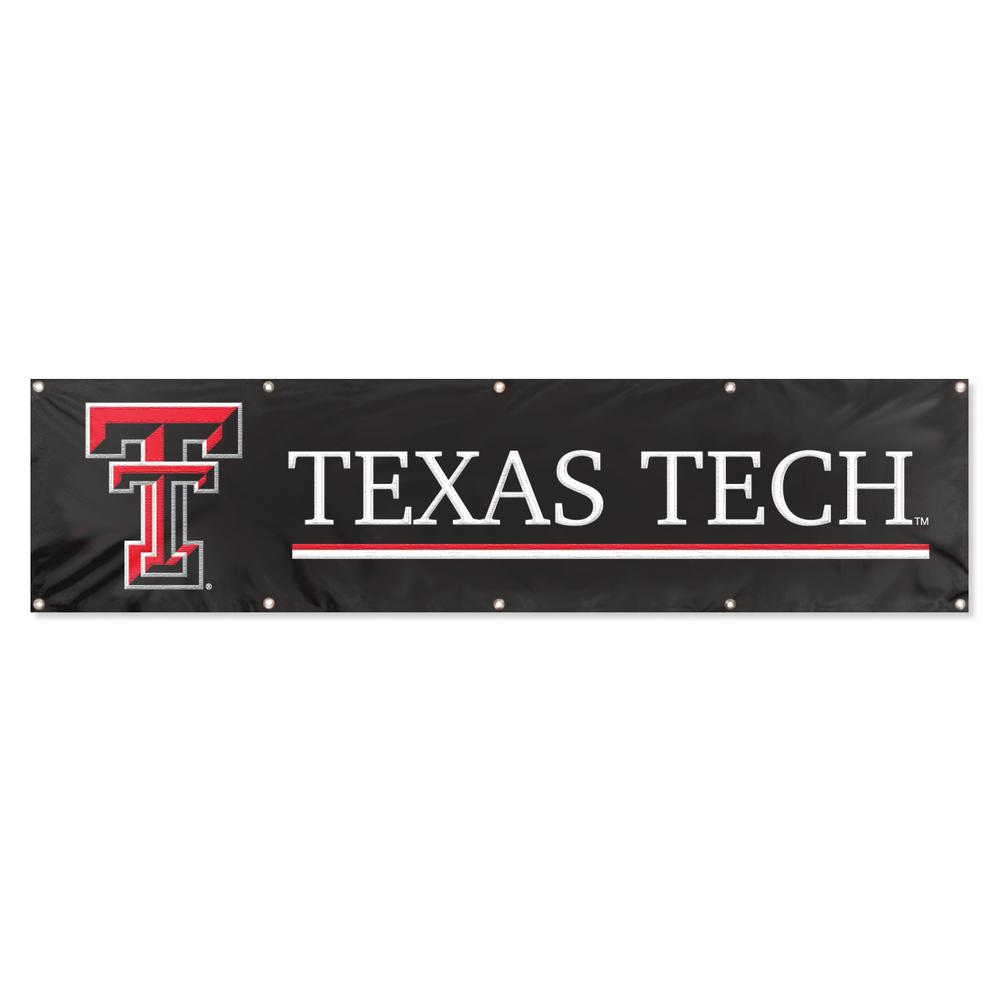 Party Animal Texas Tech Red Raiders Giant 8 ft. x 2 ft. Banner