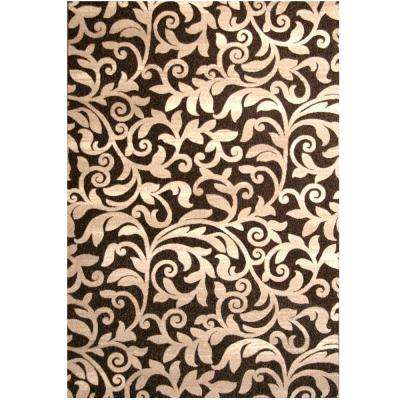 Terra Alder Chocolate 5 ft. 3 in. x 7 ft. 6 in. Area Rug