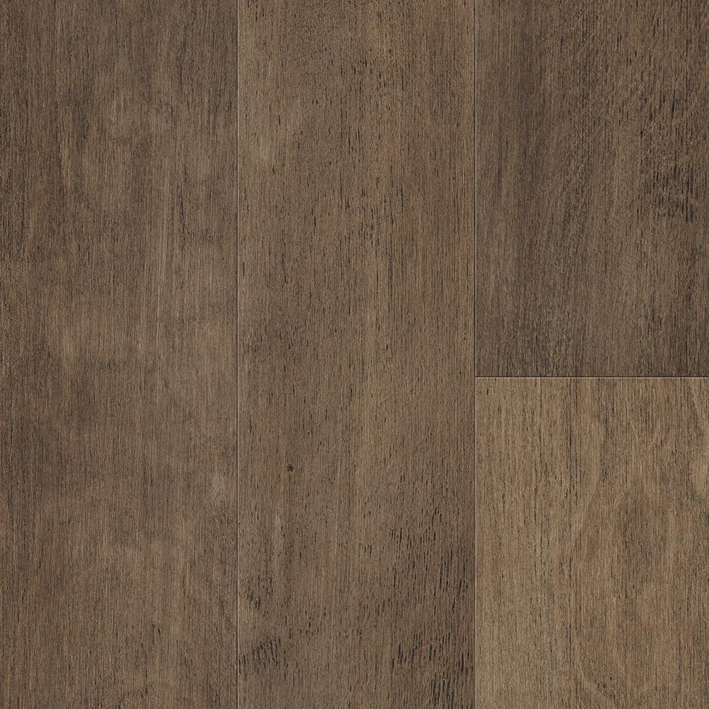 Waterproof Flooring Fawn Brown Birch 6.5mm T x 6.5in.W x 48in.L Click Engineered Hardwood Flooring (21.67 sq.ft./case)