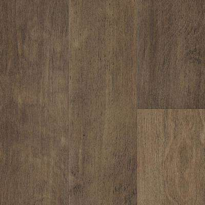 Waterproof Flooring Fawn Brown Birch 6.5mm T x 6.5in.W x 48in.L Click Engineered Hardwood Flooring (21.67 sq.ft./case)