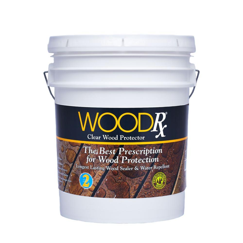 WoodRx 5 gal. Clear Water Repellent-67005 - The Home Depot