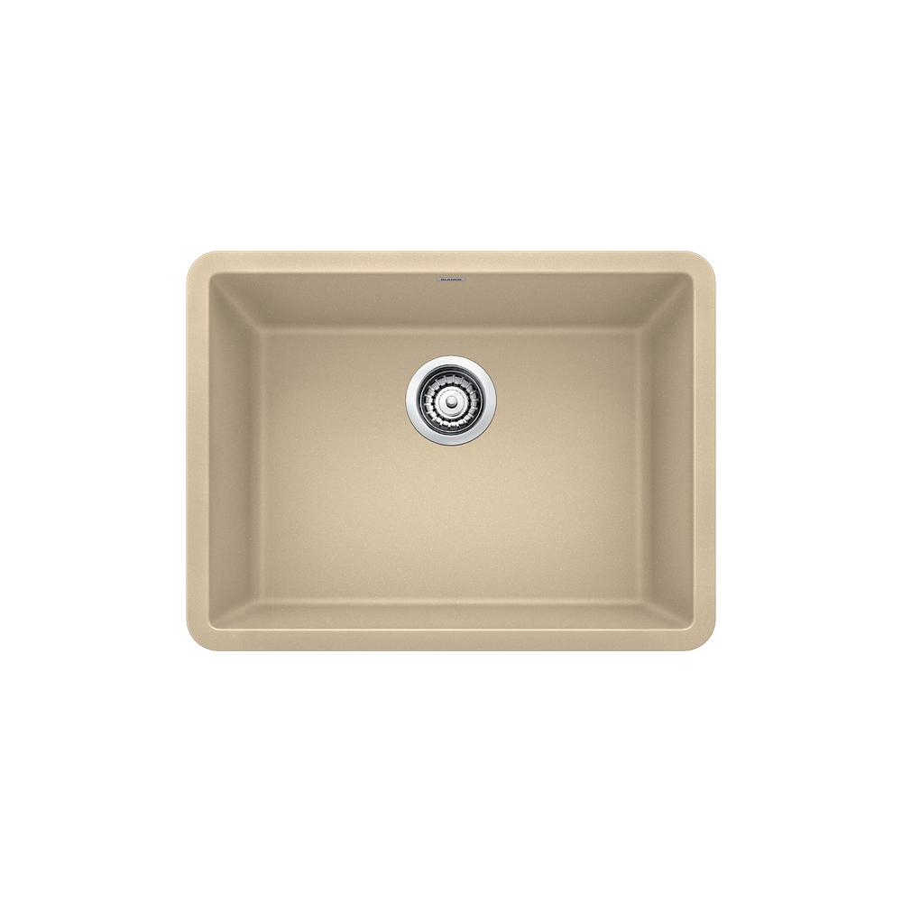 kitchen sinks composite blanco precis undermount granite composite 24 in single 2996