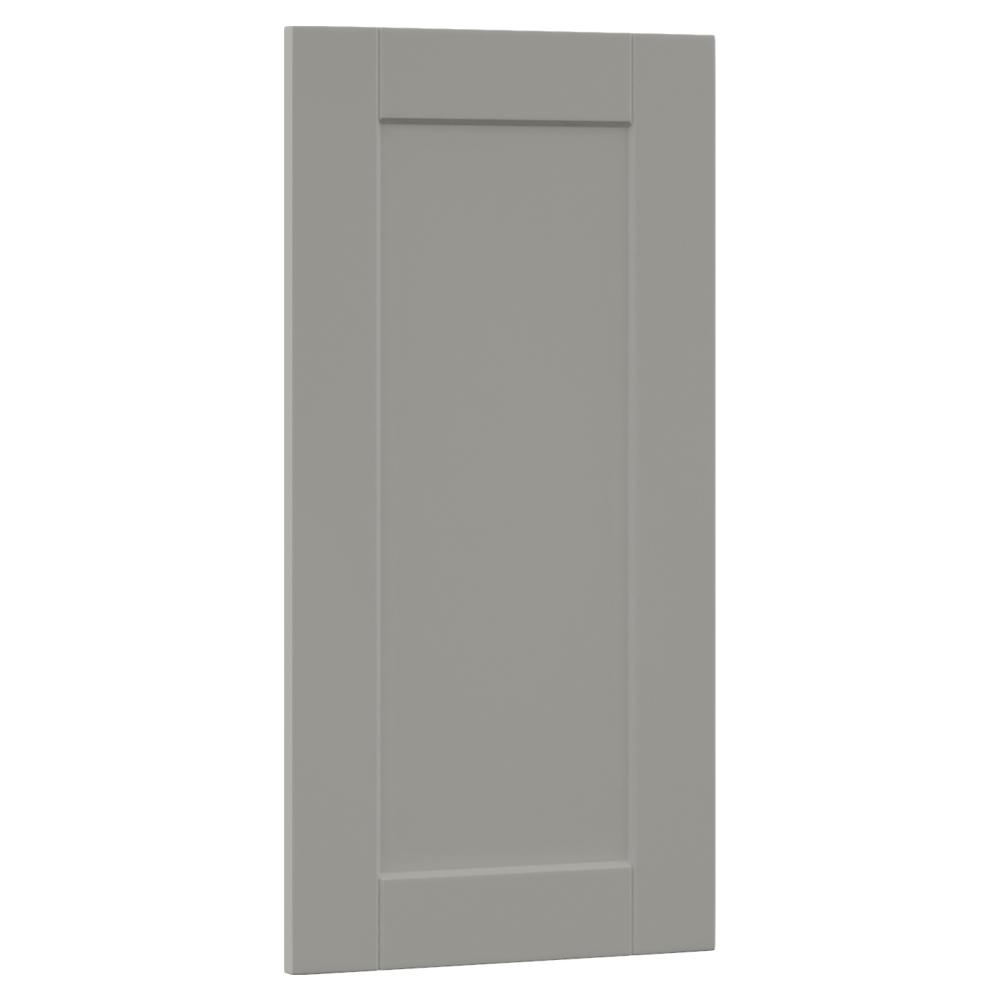 0.65x29.37x14.50 in. Shaker Island Decorative End Panel in Dove Gray