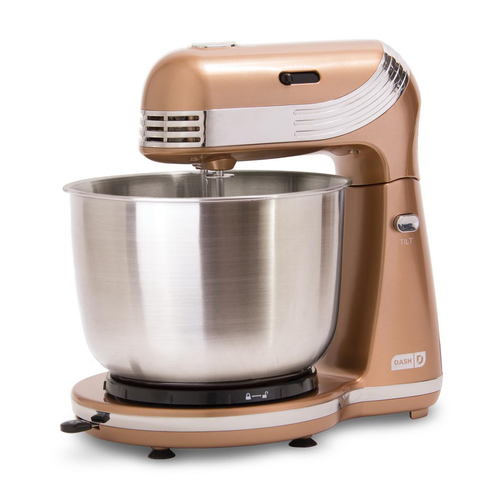 Everyday 3 Qt. Copper 6-Speed Stand Mixer