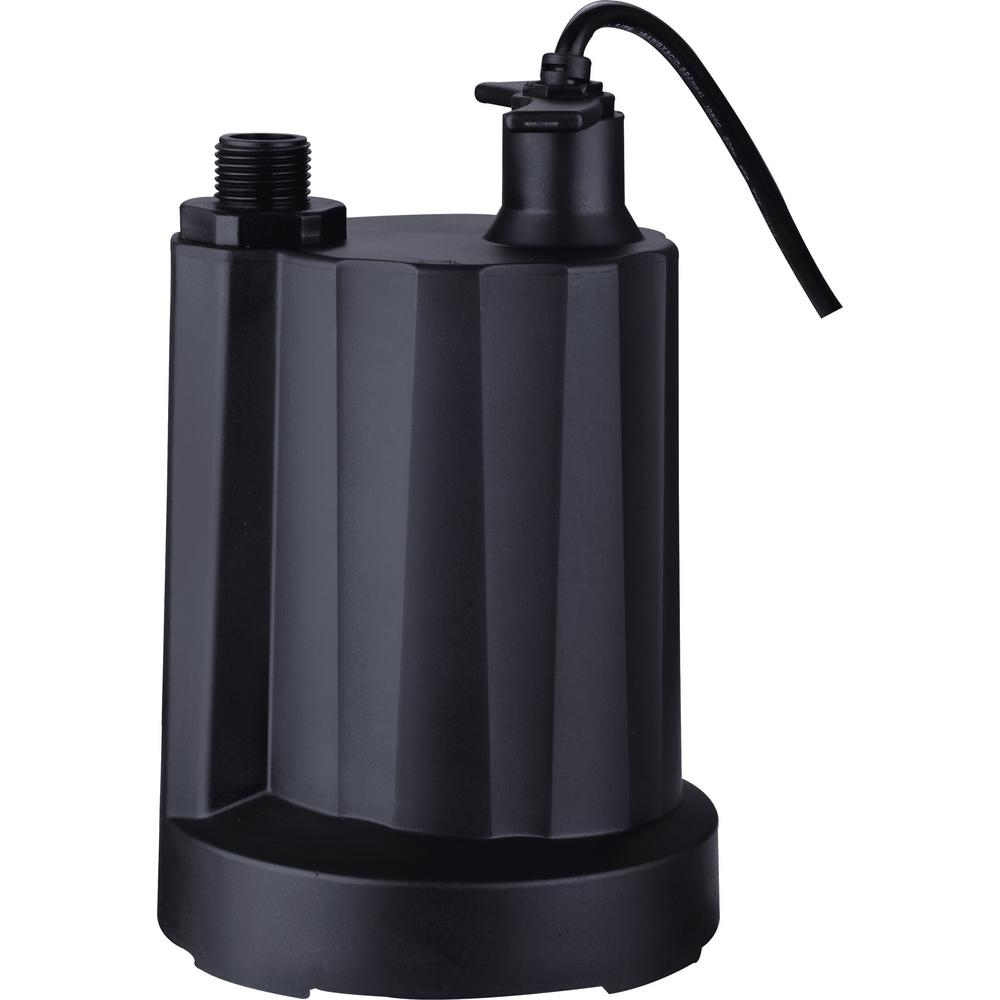 Acquaer 1/6 HP Submersible Plastic Utility Pump