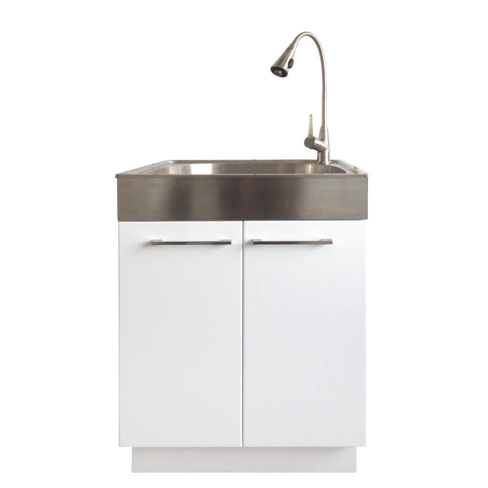 bathroom utility sink. All-in-One 24.2 In. X 21.3 33.8 Bathroom Utility Sink