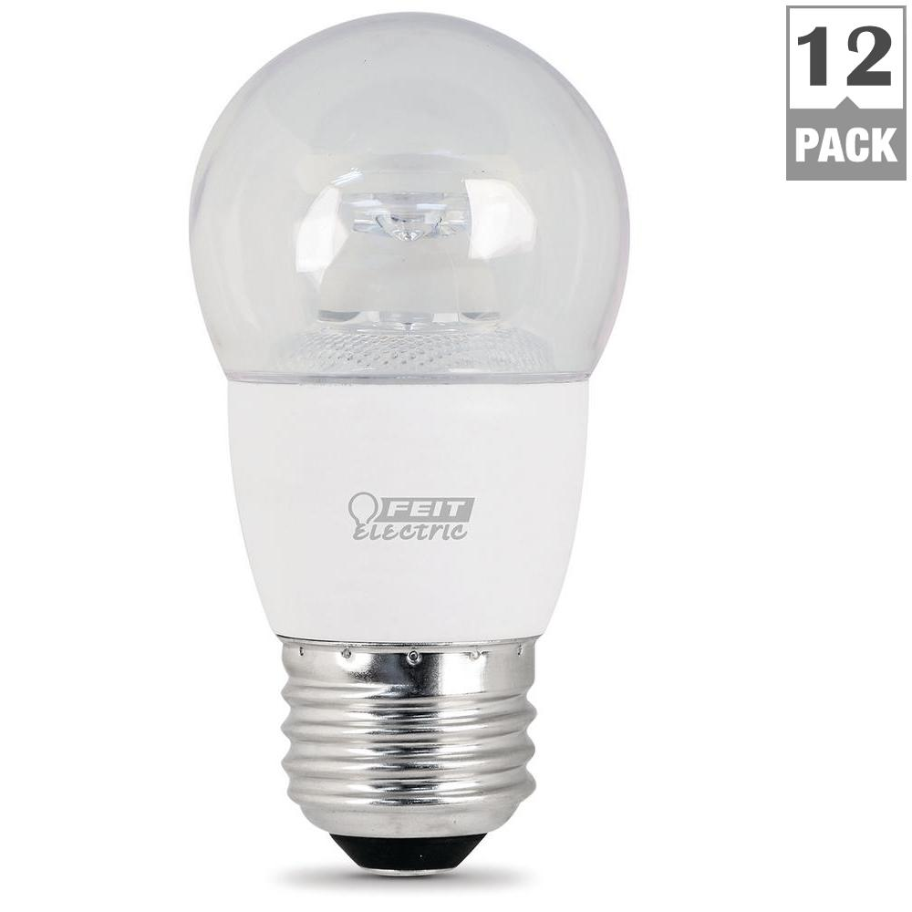 A15 led bulbs light bulbs the home depot 40w equivalent warm white 3000k a15 dimmable led ceiling fan light bulb aloadofball Image collections