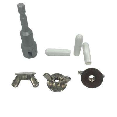 0.25 in. Wingnut Nickel Plated Fastener (300-Pack)