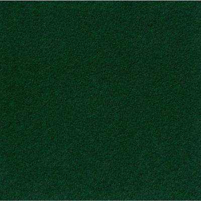 Premium Self-Stick Grizzly Grass Color Fern 24 in. x 24 in. Indoor/Outdoor Carpet Tiles (15 Tiles/60 sq. ft./case)