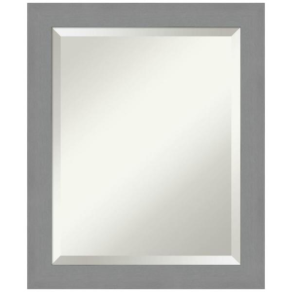 Amanti Art 19 5 In X 23 5 In Brushed Nickel Bathroom