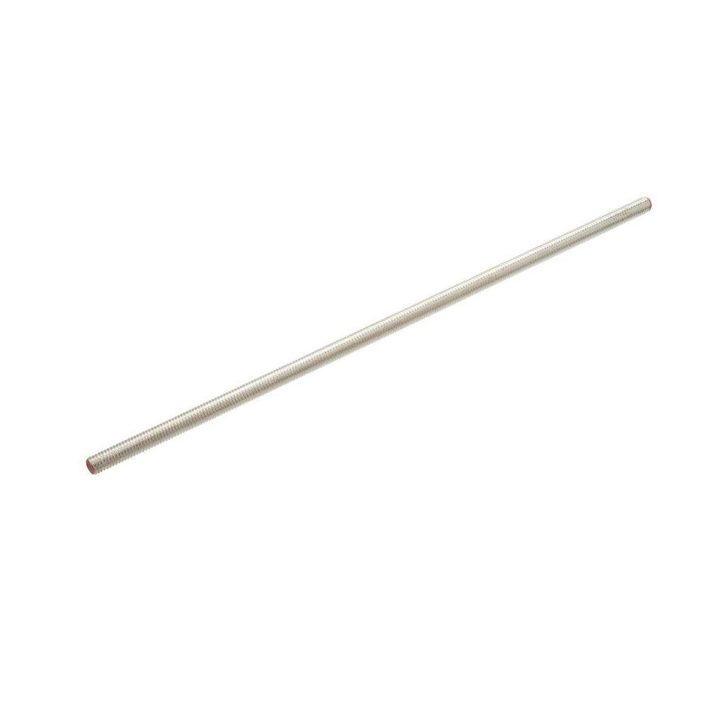 5/8 in.-11 x 36 in. Coarse Silver Metallic Steel Threaded Rod