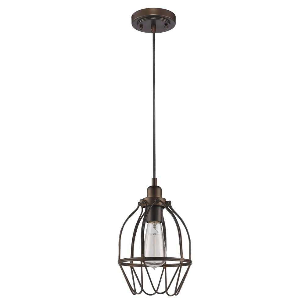 The lighting loft String Lights Loft 1light Oilrubbed Bronze Pendant With Wire Shade Write Review Acclaim Lighting Loft 1light Oilrubbed Bronze Pendant With Wire