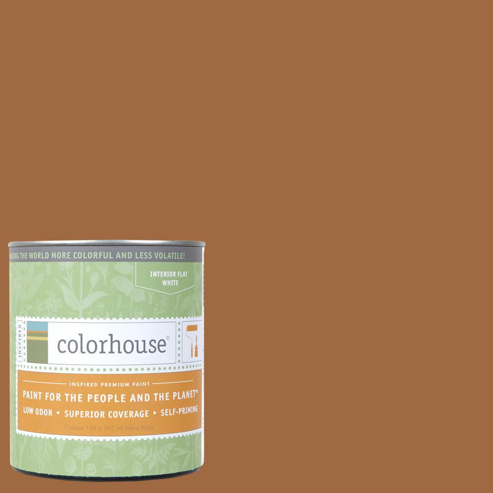 1 qt. Clay .03 Flat Interior Paint