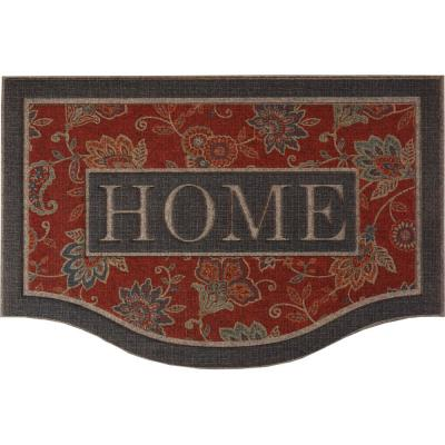 Cozy Jacobean 24 in. x 36 in. Ornamental Entry Mat