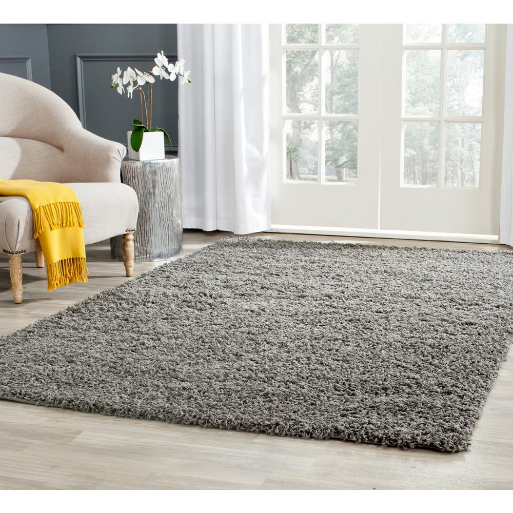 Athens Dark Gray 8 Ft X 10 Area Rug