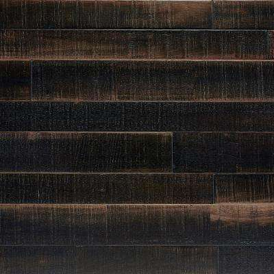 Japanese Charred Pewter 5/8 in. T x Multi-Width x 48 in. L Solid Hardwood Flooring (18.33 sq. ft. / case)