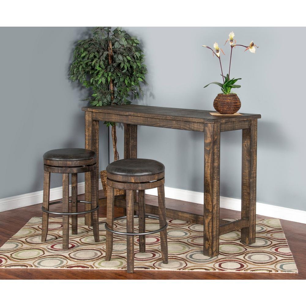 Metroflex Reno 30 in. Tobacco Leaf Backless Barstool