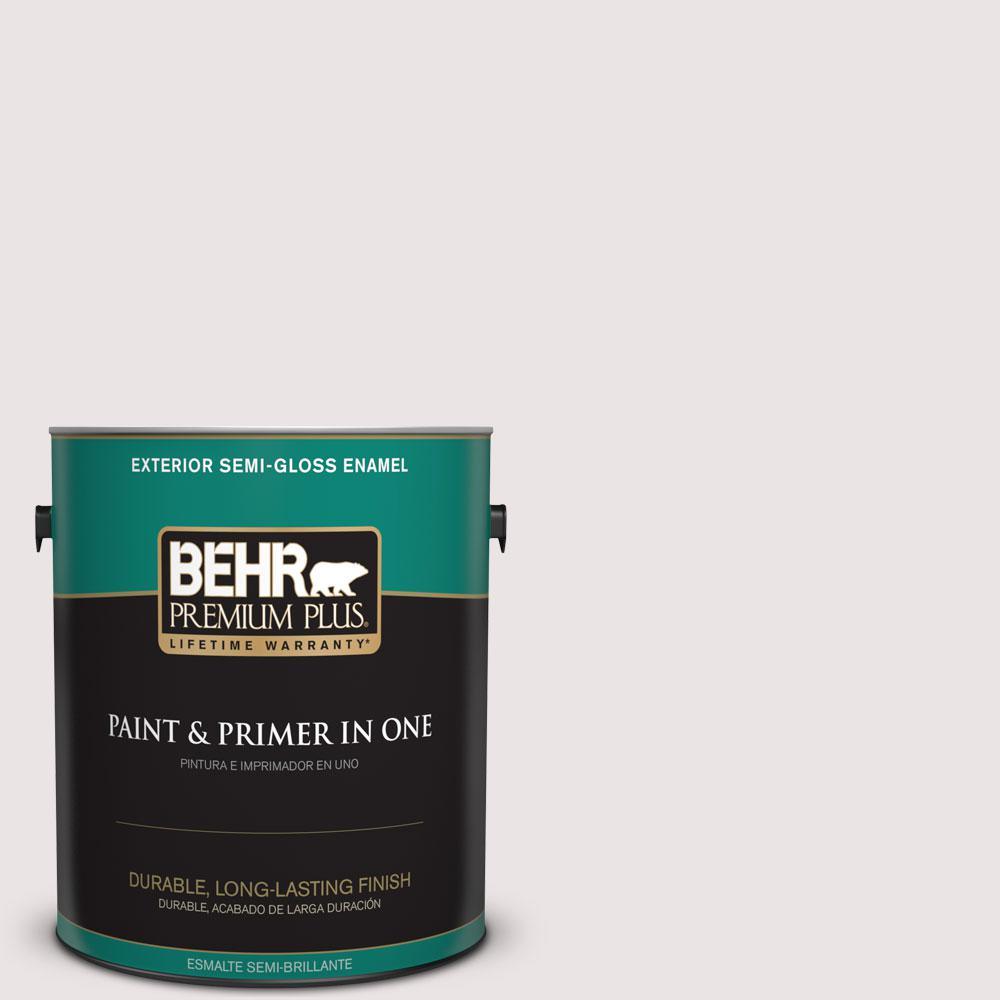 BEHR Premium Plus 1-gal. #PPL-44 French Heirloom Semi-Gloss Enamel Exterior Paint