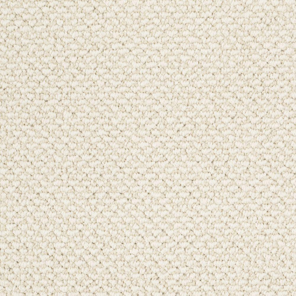 Martha Stewart Living Whitford Bay - Color Hickory 6 in. x 9 in. Take Home Carpet Sample
