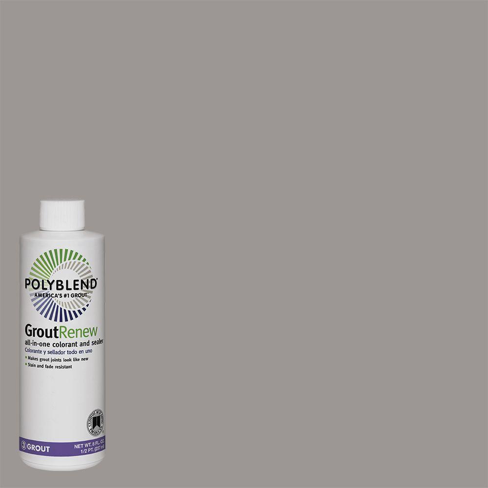 Custom Building Products Polyblend #145 Light Smoke 8 fl. oz. Grout ...