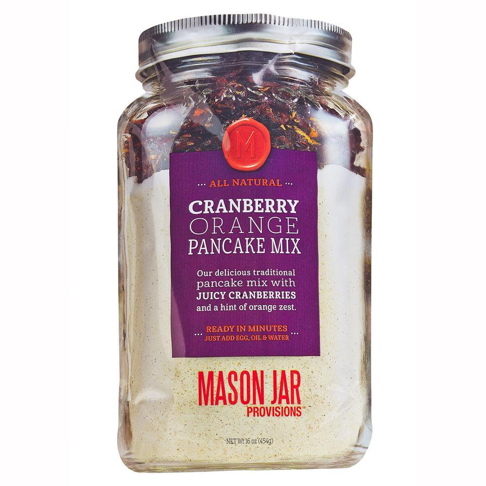 Cranberry Orange Zest Pancake in a softjar pouch