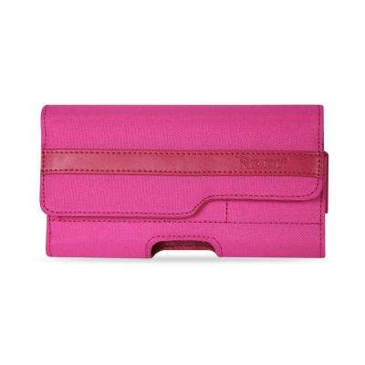 Large Horizontal Rugged Holster in Hot Pink