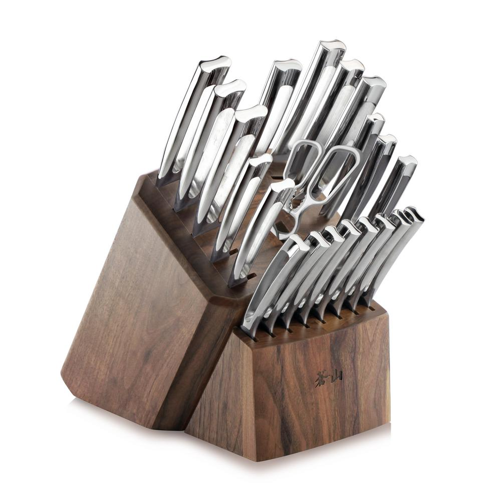 N1 Series 22-Piece German Steel Forged Knife Block Set