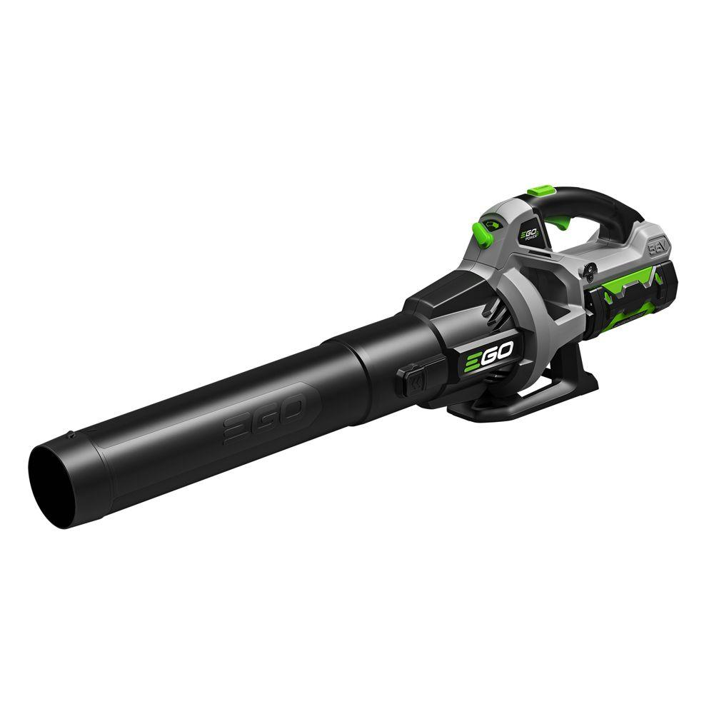 EGO Reconditioned 110 MPH 530 CFM Variable-Speed Turbo 56V Lith-Ion Cordless Blower, 2.5Ah Battery plus Charger Included