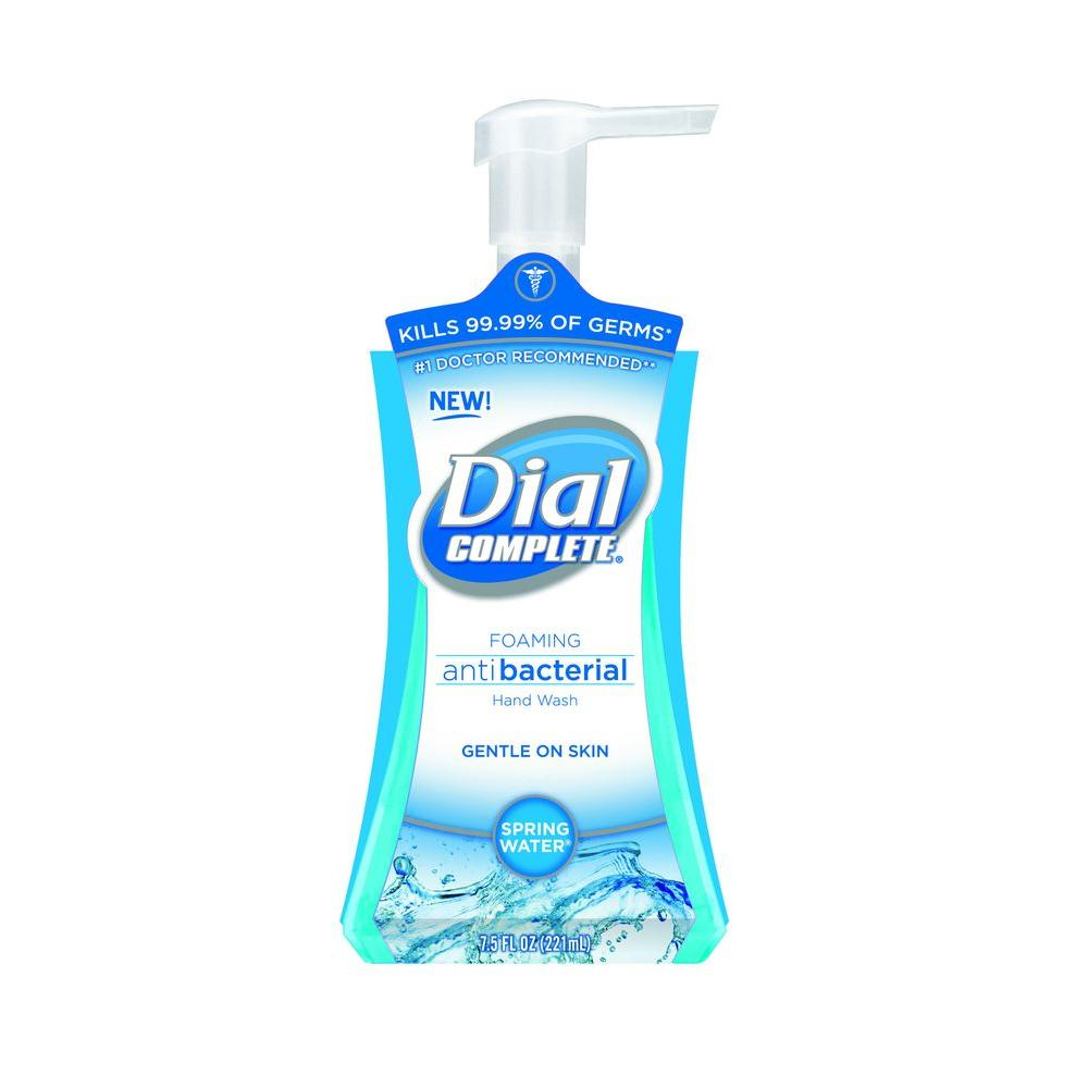 Dial 7 5 Oz Foaming Hand Soap 1778145 The Home Depot