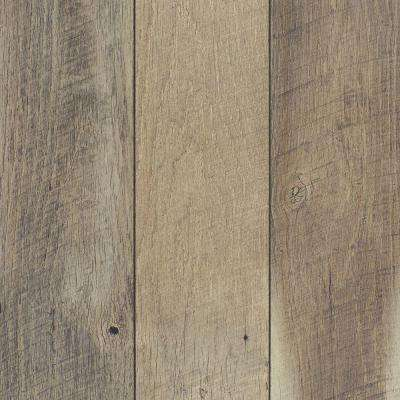 Gray Textured Scratch Resistant Laminate Wood Flooring