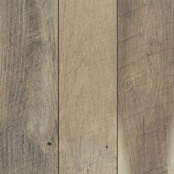 Cross Sawn Oak Gray 12 mm Thick x 5-31/32 in. Wide x 47-17/32 in. Length Laminate Flooring (13.82 sq. ft. / case)