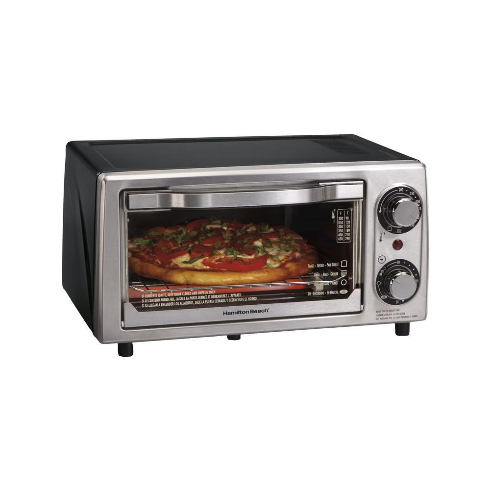 Hamilton Beach 4-Slice Toaster Oven-DISCONTINUED