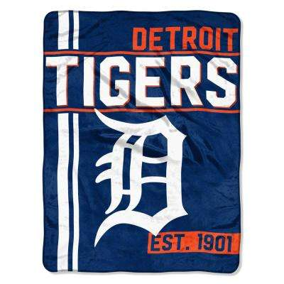 Tigers Multi Color Polyester Walk Off Micro
