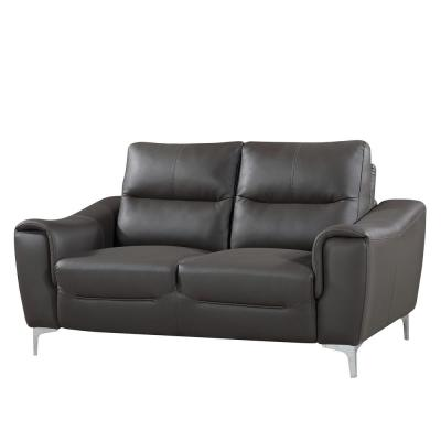 Yes - Leather - Gray - Sofas & Loveseats - Living Room ...