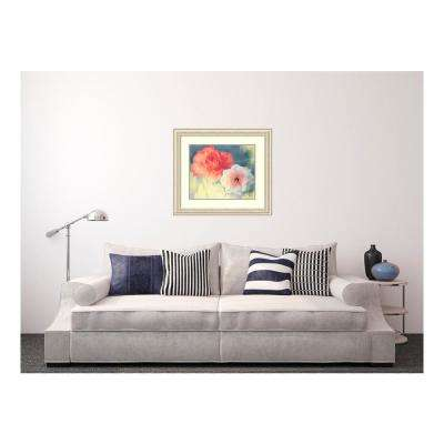 34.50 in. W x 30.50 in. H Softness by PI Studio Printed Framed Wall Art